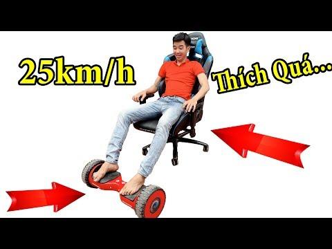 PHD | Biến Xe Điện Tự Cân Bằng Thành Xe Hơi | Self Balancing Smart Scooter - Thời lượng: 21 phút.