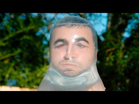The Condom Challenge In Slow Mo