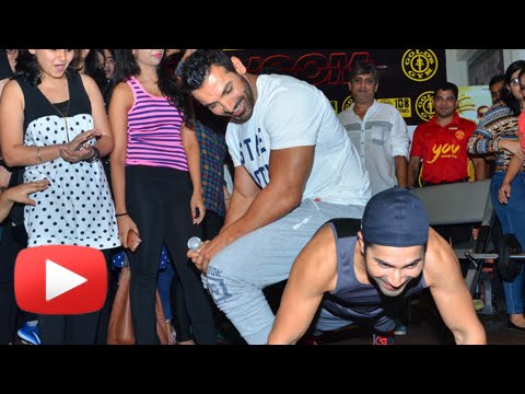 Varun Dhawan INSANE Workout At The Gym With Girls