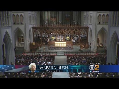 Barbara Bush Memorial Service Held In Houston