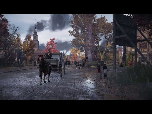 Assassin's Creed Syndicate Borough Fly By Lambeth