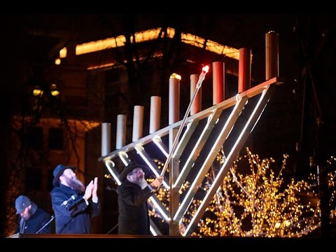 25 Years of Lighting the Menorah in Moscow's Red Square
