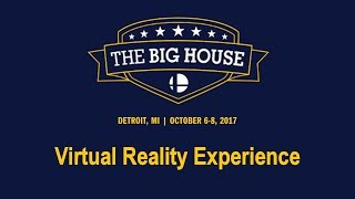 Can't make Big House this weekend? I'll be filming the Top 8s in Virtual Reality for YouTube!