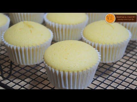 VANILLA CUPCAKE RECIPE | How to Make Soft Vanilla Cupcake | Ep. 80 | Mortar and Pastry