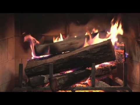 Warm And Cozy 🔥 Fireplace With Relaxing Music 🎵 🎵