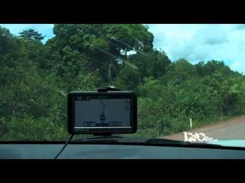 Rota BR-174 de BoaVista à Manaus