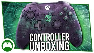 Unboxing controller di Sea of Thieves