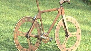 Woodenbike-Leseno kolo