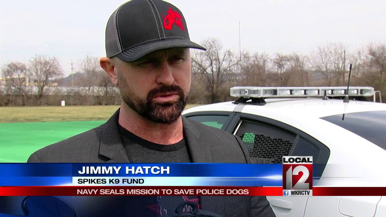 Navy Seal's mission to save police dogs