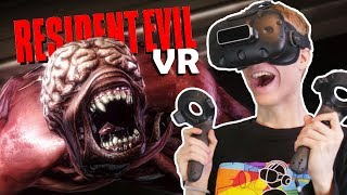 RESIDENT EVIL IN VIRTUAL REALITY! | Resident Evil 2 VR Remake (HTC Vive Gameplay)