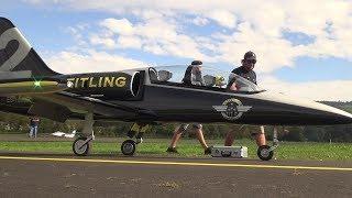 Breitling Albatros L-39 Gigantic Scale Turbine RC Model Jet 80Kg