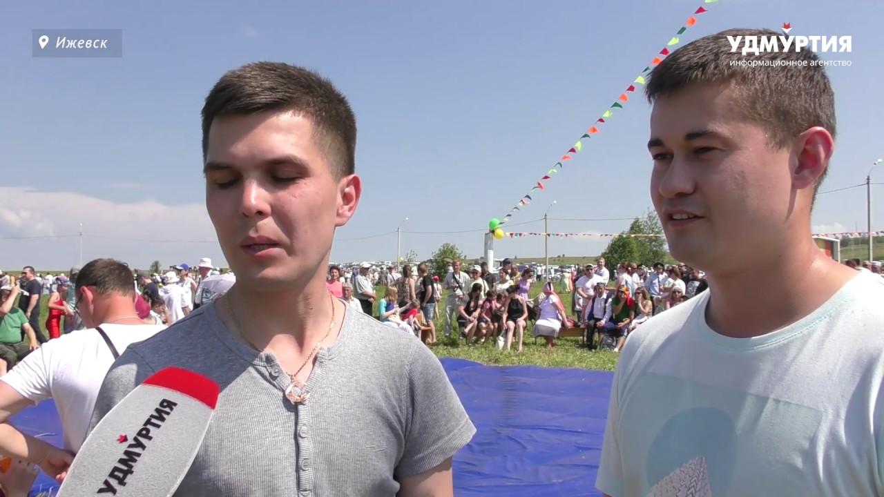 12 тысяч человек отдохнули на Сабантуе в Ижевске