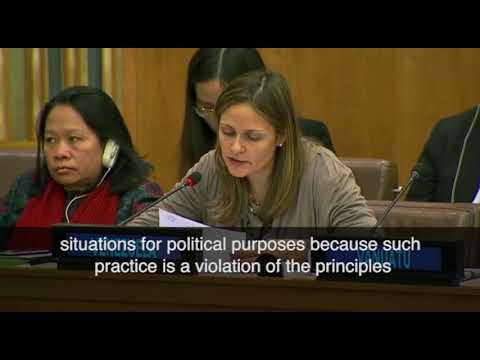 Hypocrisy of Israel's enemies caught on camera @U.N., NYC, 11/14/17
