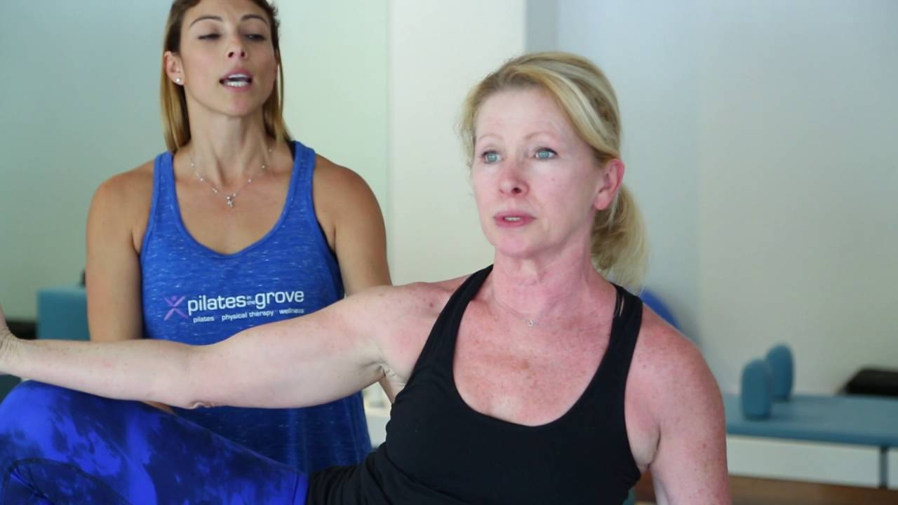 Pilates Exercises: Side Bend