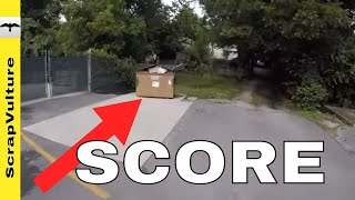 IN & OUT GET IT & GO DUMPSTER DIVING - HOW MUCH MONEY DO FREEGANS MAKE??