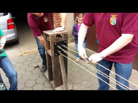 3. Silixer Heimattag - Historische Seil-Herstellung - 30.06.2013 - Full-HD