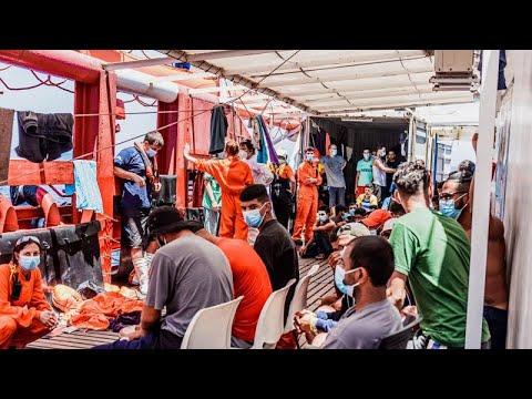 Ocean Viking: Στη Σικελία οι 180 μετανάστες – Θα μπούνε σε καραντίνα 15 ημερών …