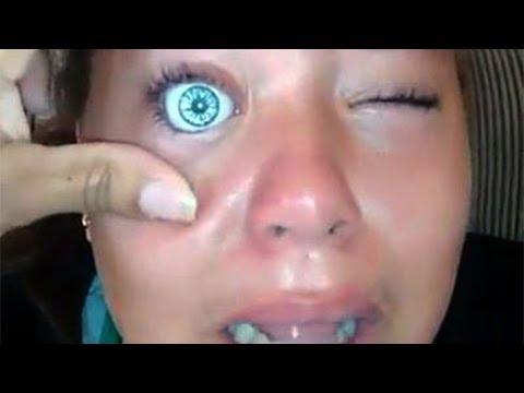 Teen Instantly Regrets Putting Doll Eye Into Eye Socket - UPDATE