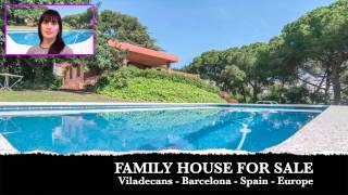 Viladecans Spain  City new picture : FAMILY HOUSE FOR SALE IN SPAIN