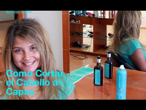 Como cortar una cabello a Capas – How to Cut Your Own Hair in Layers