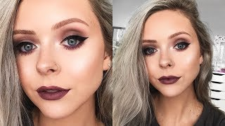 COOL TONED FALL MAKEUP LOOK   Monochromatic