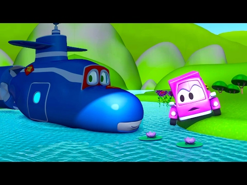 Super Truck et la petite voiture rose 🚗 à Car City | 🚚  Dessin animé pour les enfants 🚗