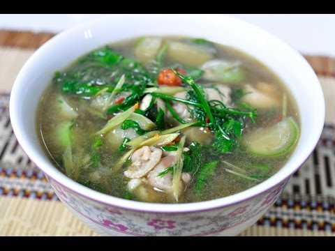 Thai Food – Chicken with Vegetables Curry (Gang Aom Gai)