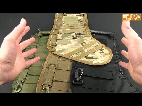 Tactical Christmas Stocking Deluxe Molle Elite Version (Green Digi Camo)