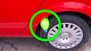 Video If You See a Bottle on Your Tire, Don't Touch It And Call the Police! MP3, 3GP, MP4, WEBM, AVI, FLV Desember 2018