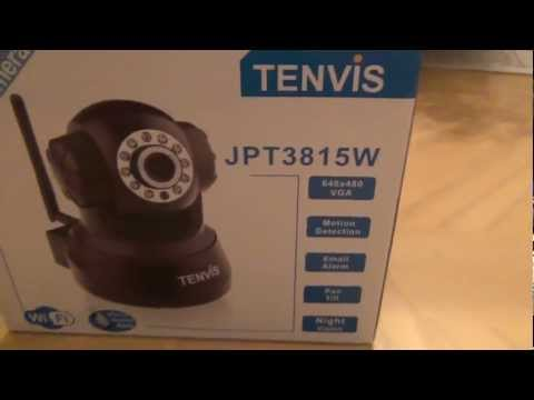 Unboxing the Wireless IP Camera TENVIS JPT3815W