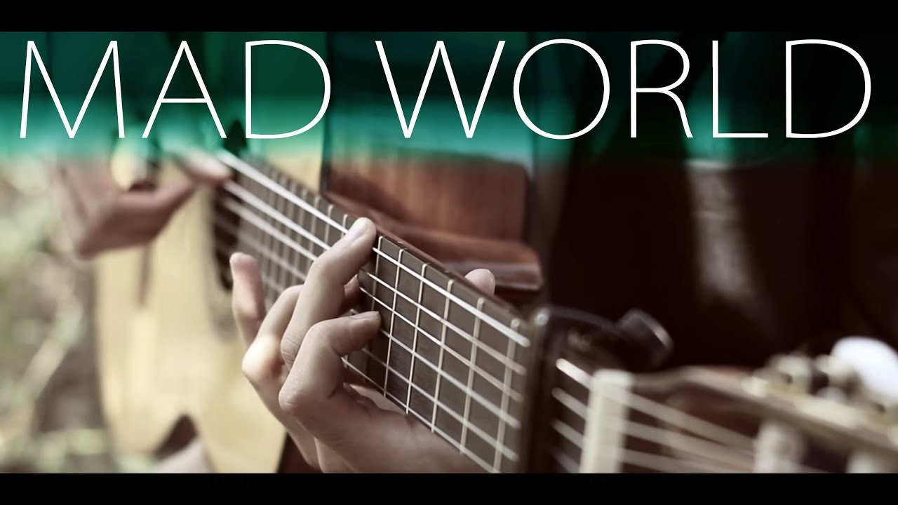 Gary Jules – Mad World⎪Fingerstyle guitar + TABS