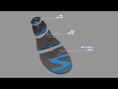Stridetek Tactical Trainer Orthotic Insole