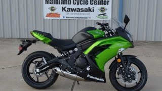 3. $6,899: 2014 Kawasaki Ninja 650 ABS Candy Lime Green