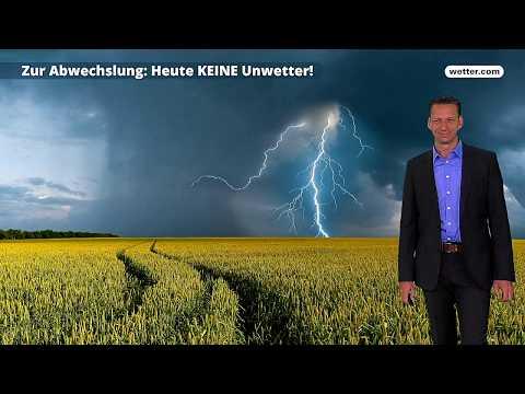 Wetter Die aktuelle Vorhersage 14.06.2018