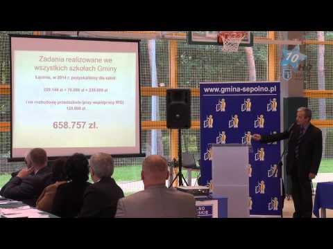 XLIX Sesja Rady Miejskiej w Sępólnie Krajeńskim, 25.09.2014 r.