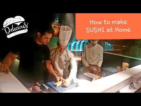 how to make sushi Vlog