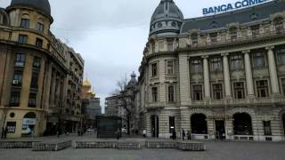 Bucharest Romania  City pictures : Walking around Bucharest, Romania 4k