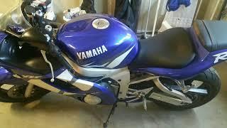 9. 2002 Yamaha YZF R6 - 1 owner - 15k original miles