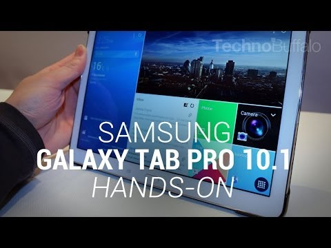 Samsung Galaxy Tab Pro 10.1 Hands On – CES 2014