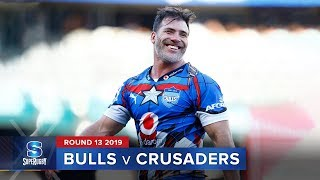 Bulls v Crusaders Rd.13 2019 Super rugby video highlights | Super Rugby Video Highlights