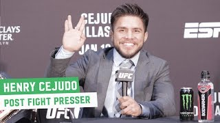 Video Henry Cejudo: 'He may not accept it, but I beat the greatest bantamweight of all time' MP3, 3GP, MP4, WEBM, AVI, FLV Januari 2019