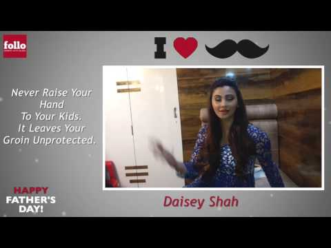 Daisey Shah Wishes Father's Day and Shares Her Momories