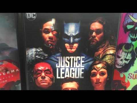 Justice League - Target Exclusive Blu-Ray Digibook Review
