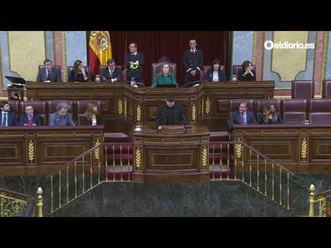 Las críticas de Gabriel Rufián (ERC) a los »iscariotes« del PSOE y los »cuñados« de Ciudadanos