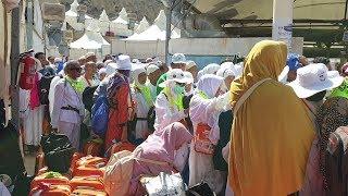 Video Kepulangan Jamaah Haji Dari Tenda Mina Kembali Ke Hotel Atau Pemondokannya Di Mekkah 1440H/2019M MP3, 3GP, MP4, WEBM, AVI, FLV Agustus 2019
