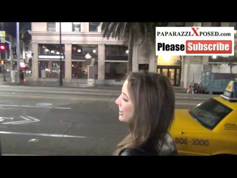 Alyssa Arce the July 2013 Playmate Of The Month outside of Katsuya in Hollywood