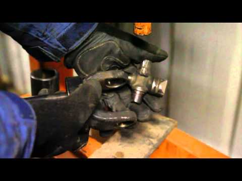 How to install a U-joint