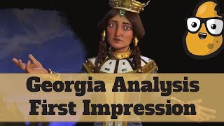 Video First Impression Georgia Analysis - Civ 6 Rise and Fall MP3, 3GP, MP4, WEBM, AVI, FLV Januari 2018