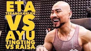 Video ETA TERANGKANLAH VS AYU TING TING VS RAISA !! (ME AGAINST THE WORLD) MP3, 3GP, MP4, WEBM, AVI, FLV April 2018