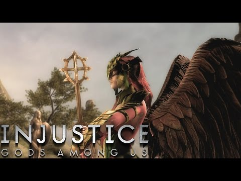 Injustice: Gods Among Us - Hawkgirl - Classic Battles On Very Hard (No Matches Lost)